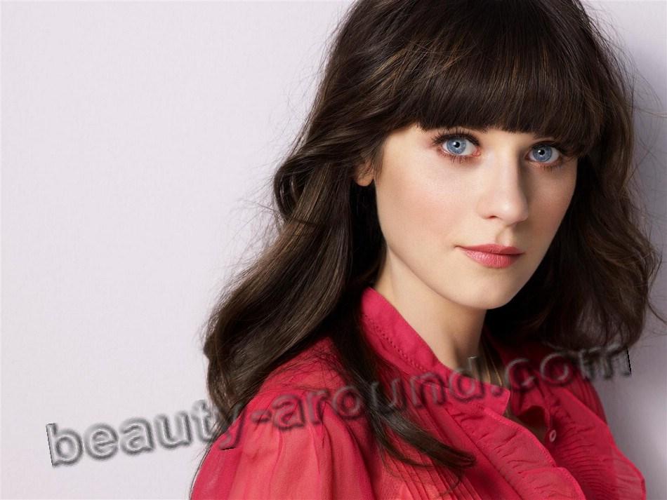 Зоуи Дешанель красивая актриса сериала фото