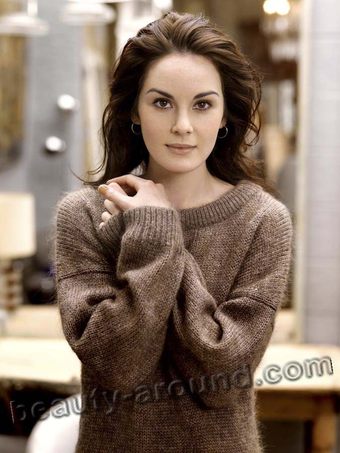 Michelle Dockery talanted TV series actress photo