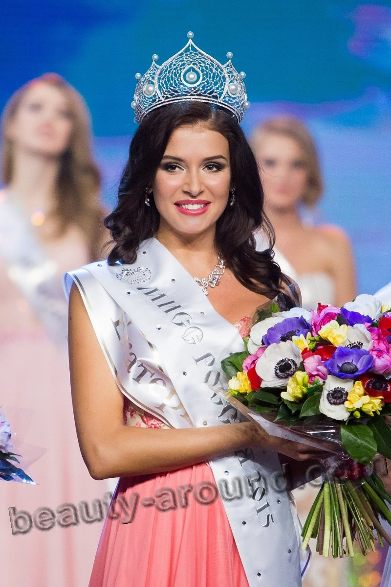 Sofia Nikitchuk crown of Miss Russia 2015 photo