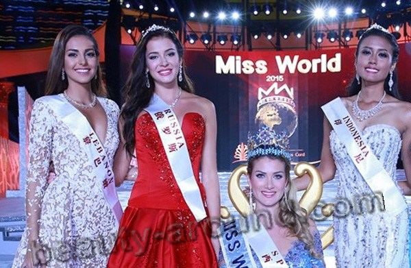 Sofia Nikitchuk at Miss World 2015 photo