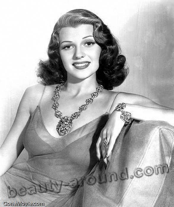 Rita Hayworth, photo of american actress and sex simbol Margarita Carmen Cansino