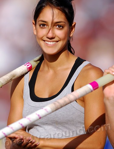 Allison Stokke the most beautiful female athletes photo