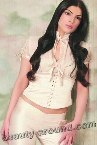 Dina Hayek красивая сирийская певица фото