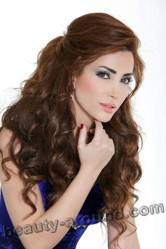 Nesreen Tafesh сирийка красивое фото