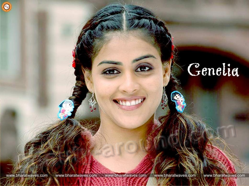 Beautiful South Indian Actresses Genelia D'Souza