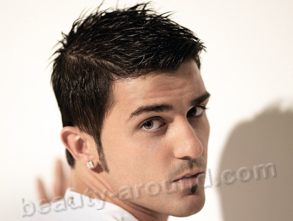 David Villa  spanish football player