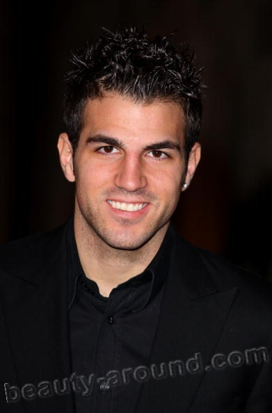 Francesc Fabregas spanish football player