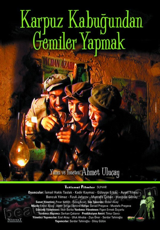 Boats from watermelon peels / Karpuz kabugundan gemiler yapmak the best turkish films