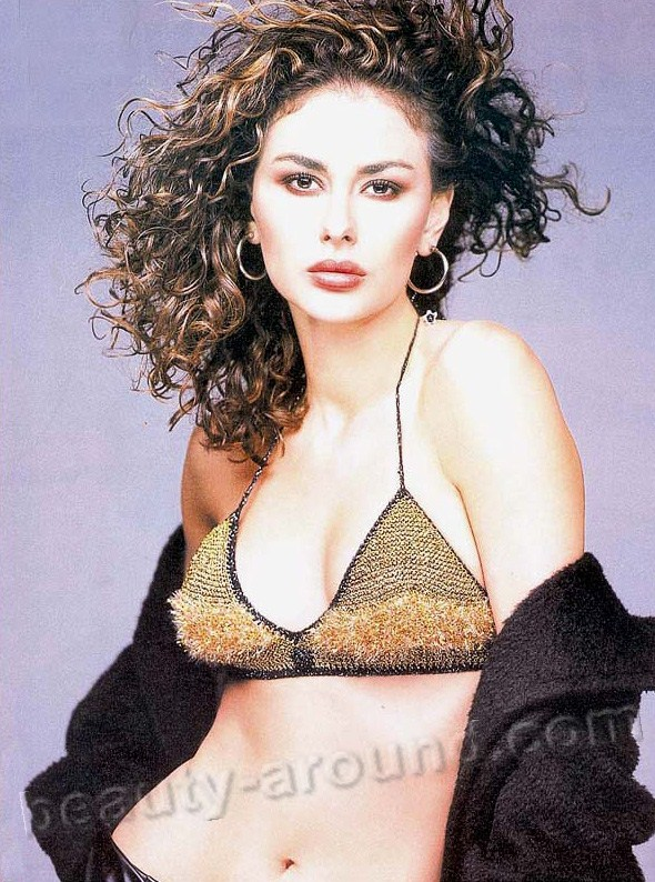 Ayşe Hatun Önal  Turkish model, actress, singer and Miss Turkey 1999 photos