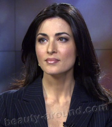 Ghida Fakhry  Lebanese journalist and one of the main leaders in the news channel Al-Jazeera English