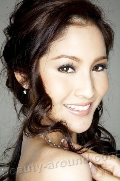 Beautiful Thai Women. Farung Yuthithum Miss Thailand Universe 2007