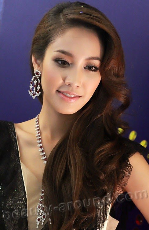 Beautiful Thai Women Min Peechaya Wattanamontree Thai actress, model and singer