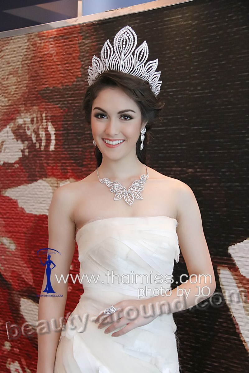 Beautiful Thai Women. Farida Waller Miss Universe Thailand 2012