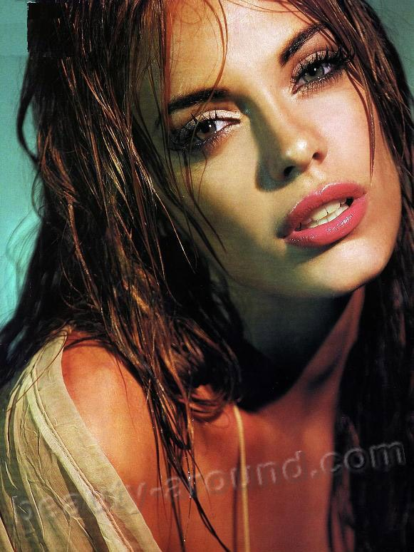 Beautiful Argentinian women Emilia Attias