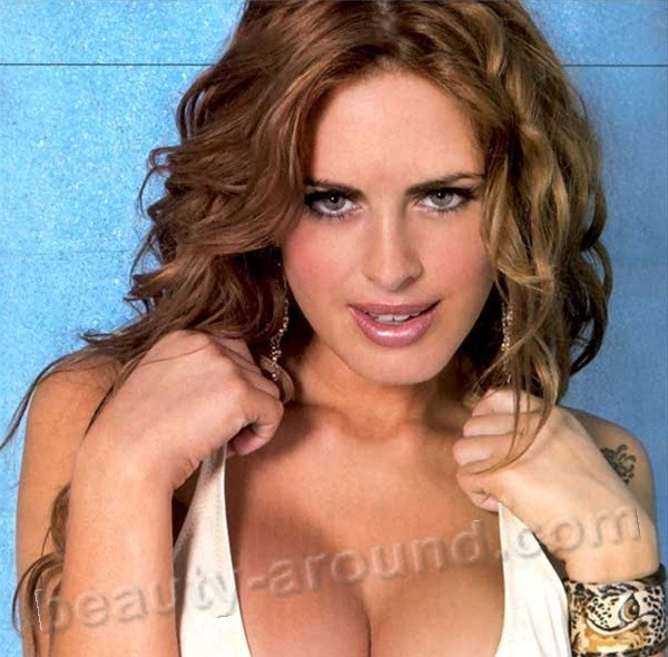 Beautiful Argentinian women. Silvina Luna