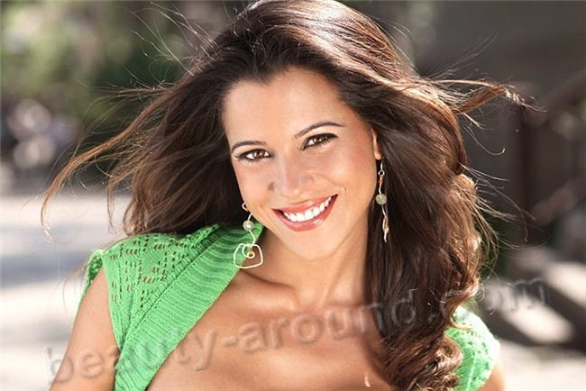 Vanessa Terkes beautiful Peruvian woman