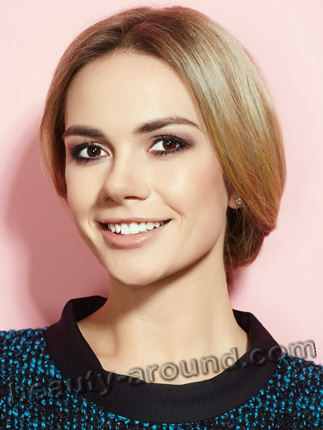 Anastasiya Tregubova Beautiful Russian TV host of 1 channel