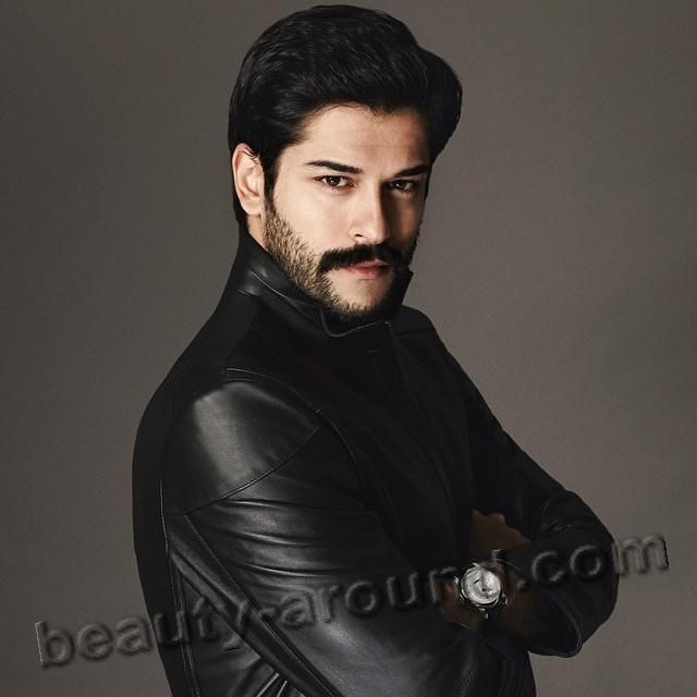Burak Özçivit handsome Turkish man photo