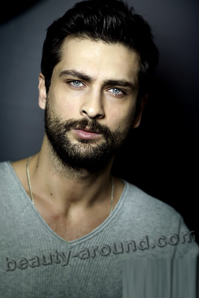 Onur Tuna handsome Turkish actor photo