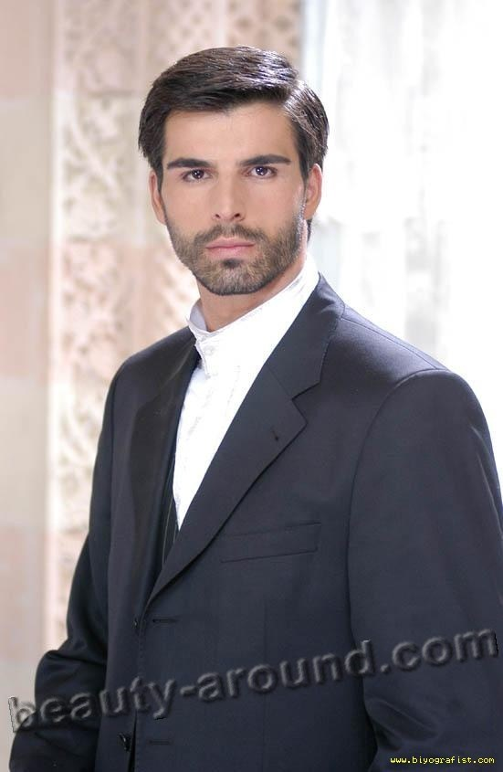 Mehmet Akif Alakurt Turkish actor and model photo