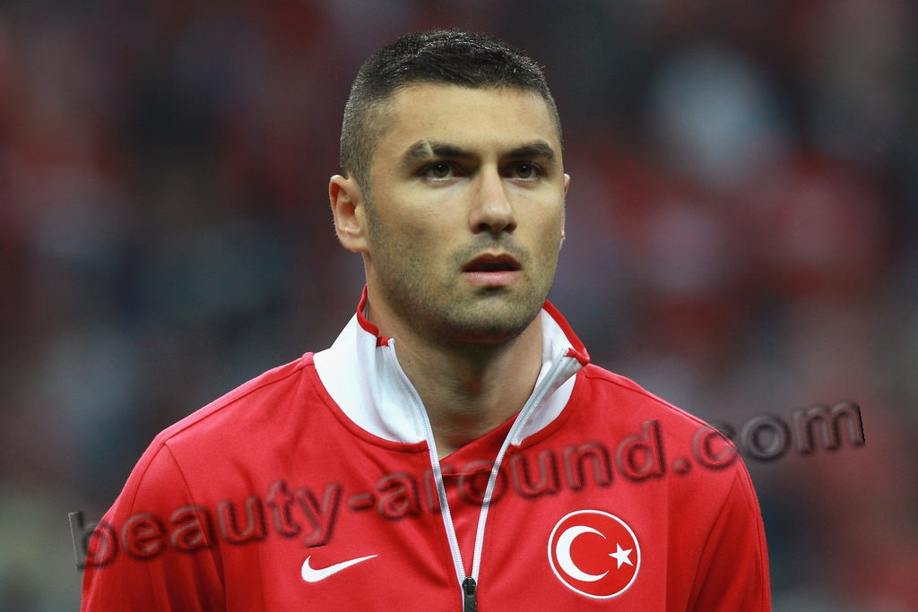Burak Yılmaz handsome Turkish professional footballer photo