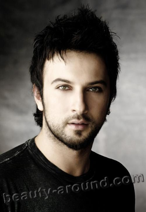 Tarkan handsome Turkish singer photo