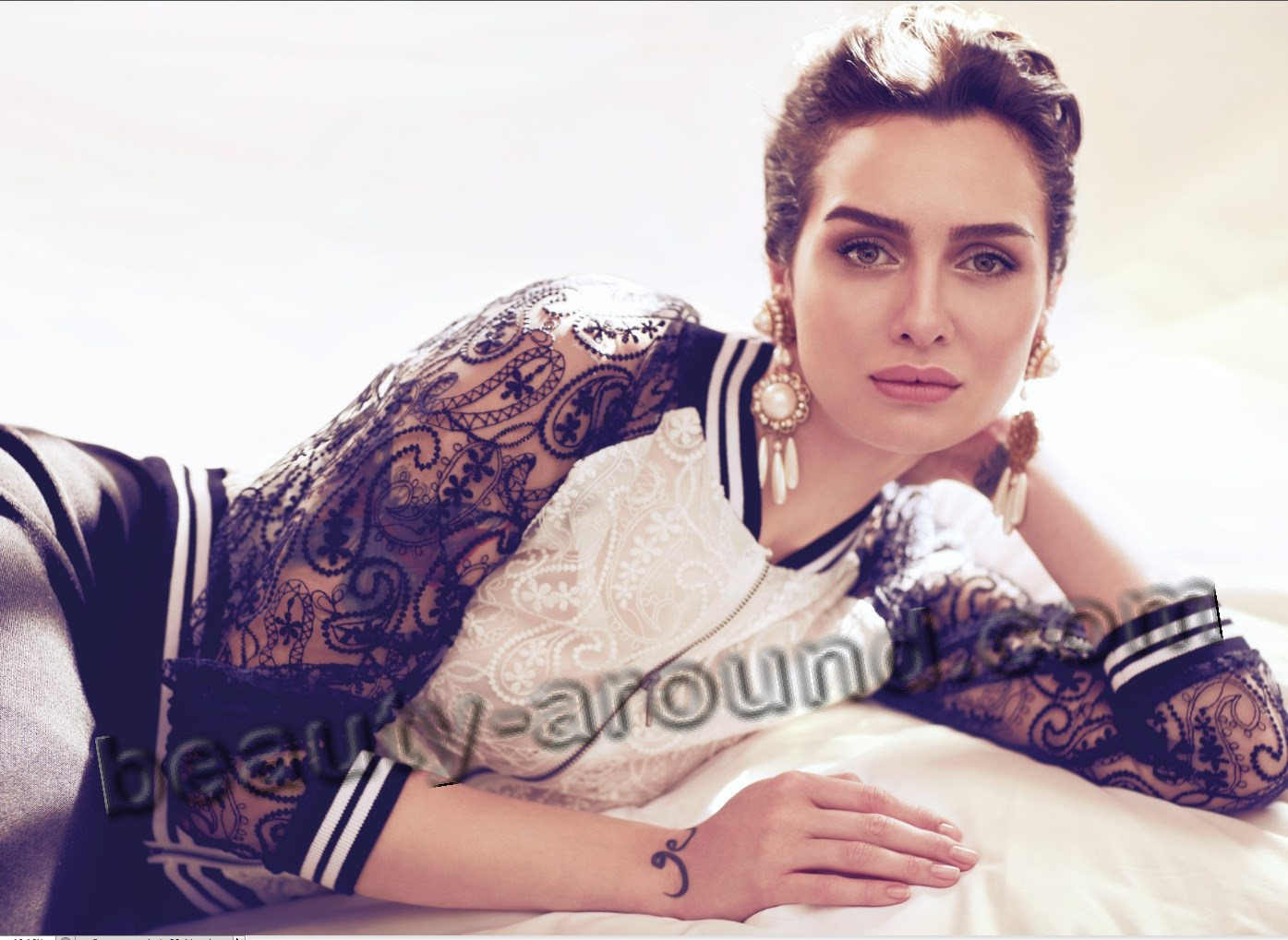 Beautiful Turkish woman Birce Akalay photo