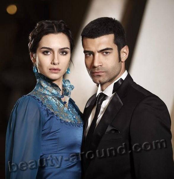 Бирче Акалай и Мурат Юналмыш красивая пара из сериала фото