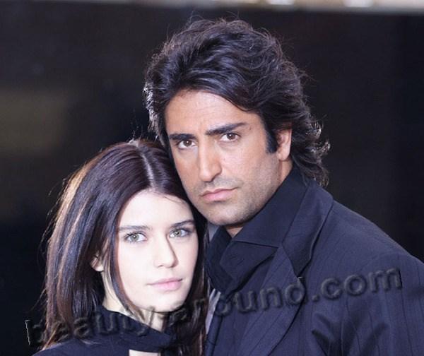 Красивая пара актёров из сериала Любовь и ненависть фото вместе