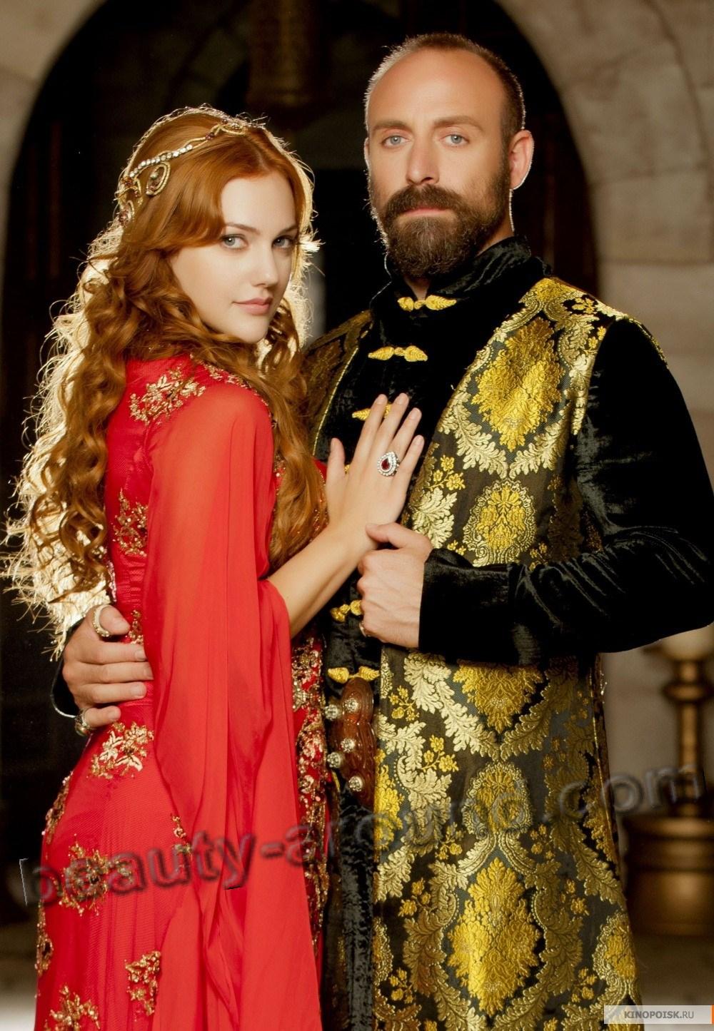 Самая лучшая и красивая пара Мерьем Узерли и Халит Эргенч  фото