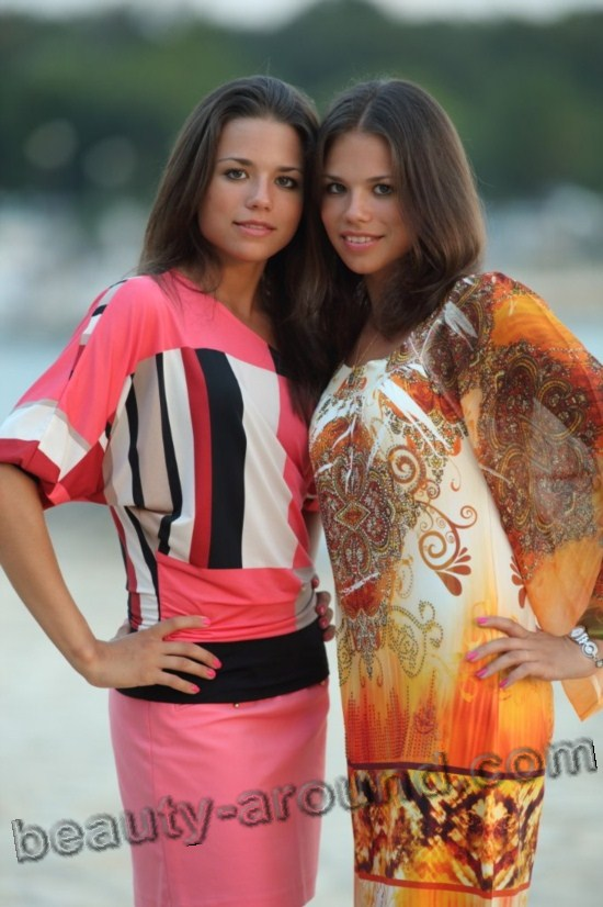 Beautiful Romanchenko Twins (Russia) photo