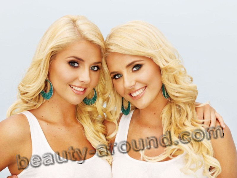 Beautiful Kristina and Karissa Shannon Twins