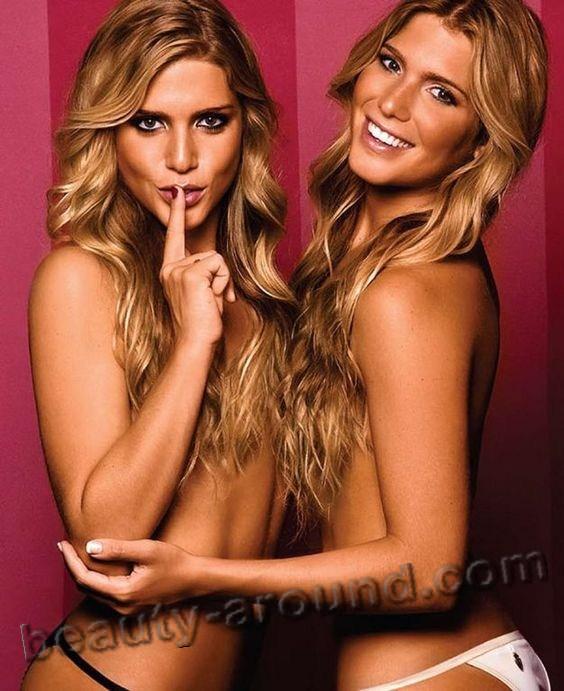 Самые сексуальные близняшки Биа и Бранка Ферес фото