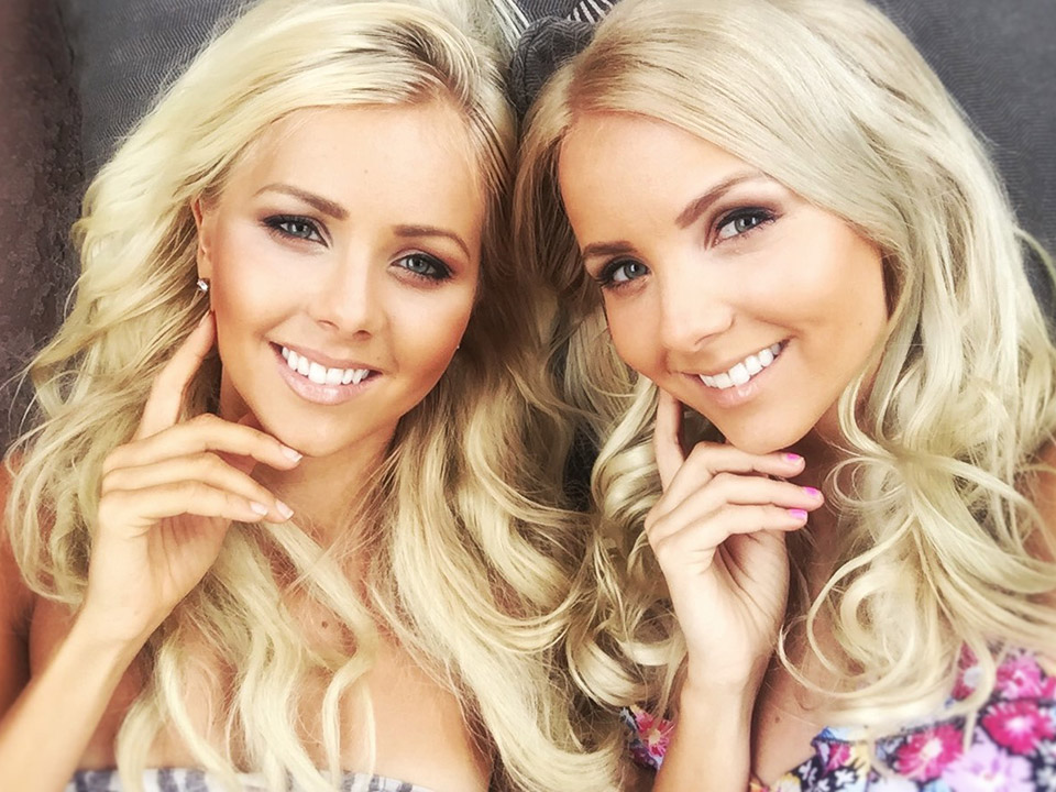 Nina and Nita Louhelainen are Finnish twins models photo
