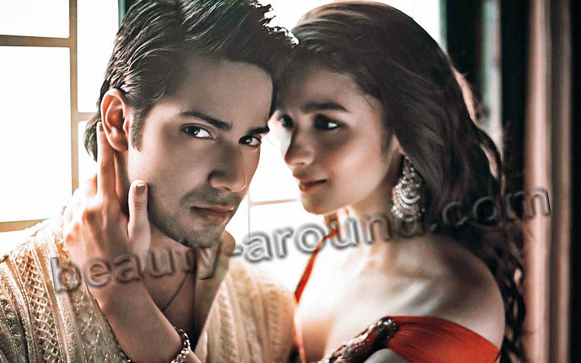 Пара Болливуда Варун Дхаван и Алия Бхатт фото
