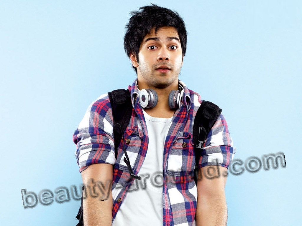 Varun Dhawan самый красивый индийский актёр фото