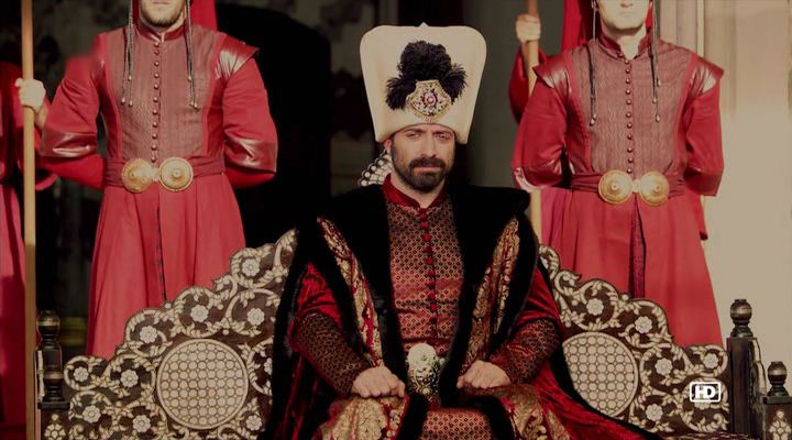 Halit Ergenc as Süleyman the Magnificent Century