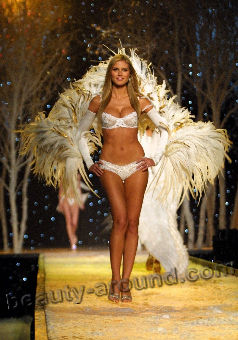 Heidi Klum Hot Sexy Angel of Victoria's Secret photo