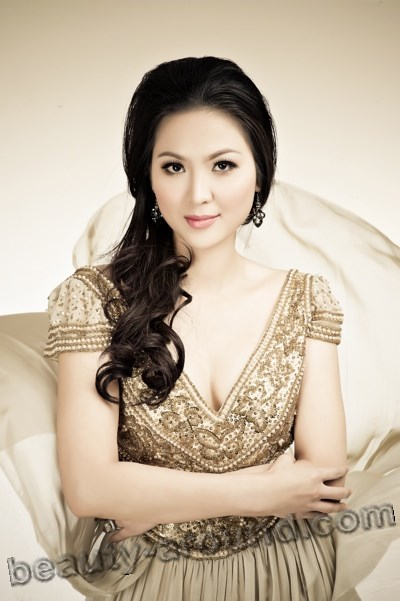 Beautiful Vietnamese women, Phan Thu Ngân Miss Vietnam 2000