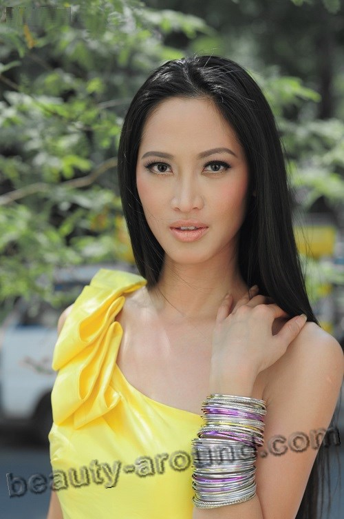 Beautiful Vietnamese women, Elizabeth Thuy Tien Vietnamese model