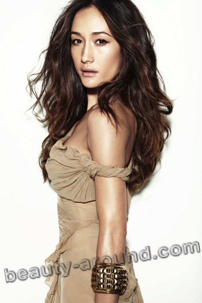 Beautiful Vietnamese women, Maggie Q American actress and model