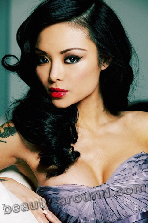 Beautiful Vietnamese women, Tila Tequila American model