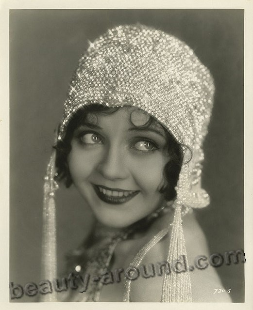 Vintage photo of American actress