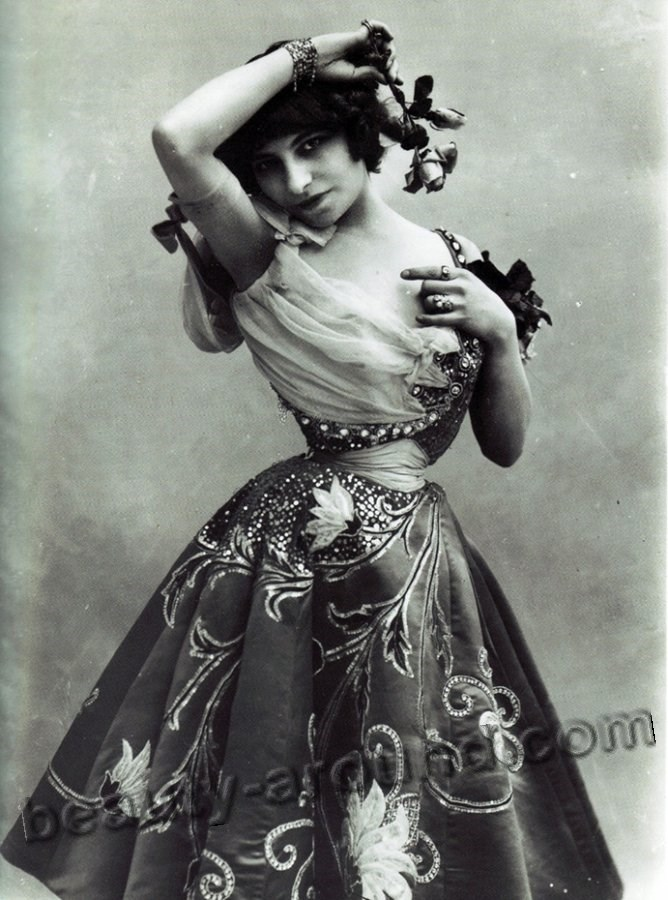 Vintage photo of a girl with a flower