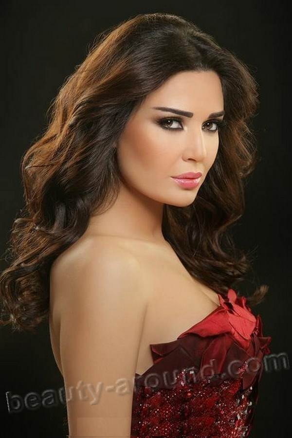 Cyrine Abdel Nour most beautiful oriental women photos