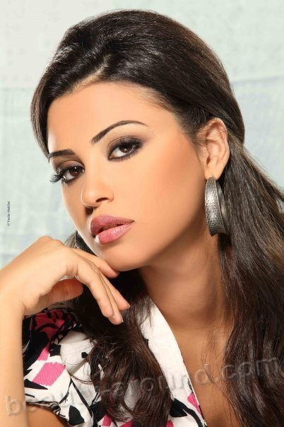 Most beautiful lebanese girl
