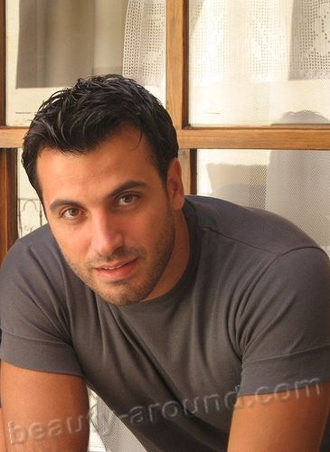 Khalil Abou Obeid handsome arab men pictures