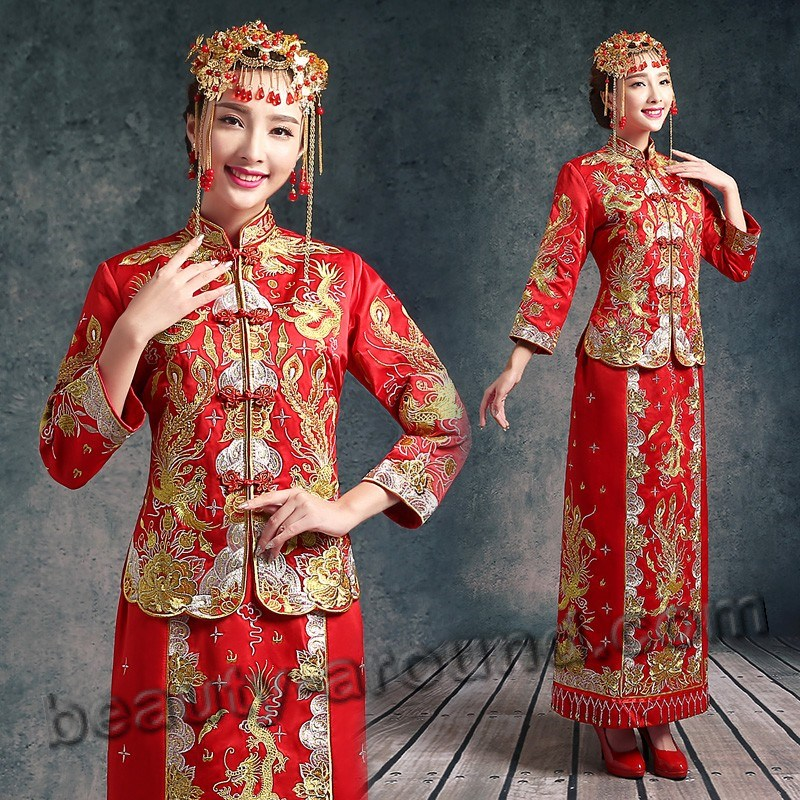 Chinese bride photo