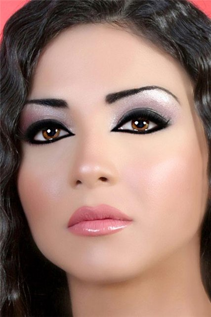 Arabic makeup style photos