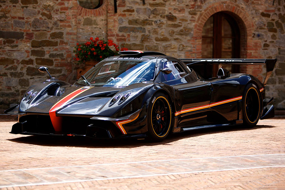 Pagani Zonda Revolucion photo most expensive cars in the world